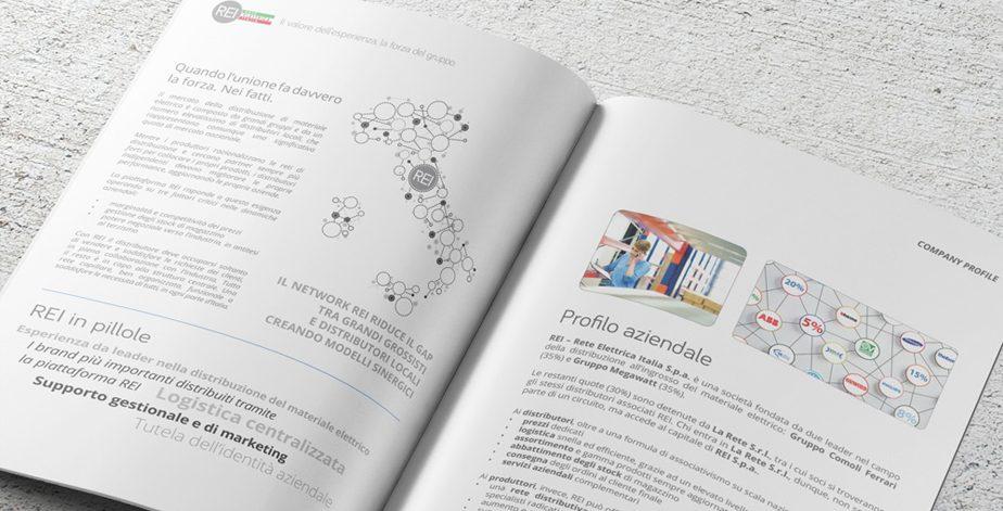template per brochure esempio rei