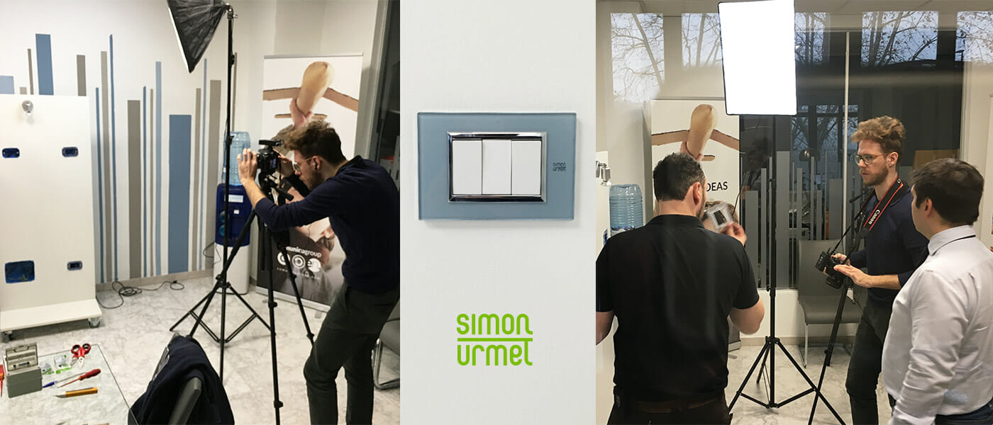 video tutorial degli impianti elettrici di Simon Urmet
