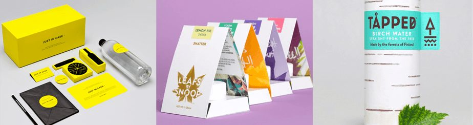 packaging design prodotti