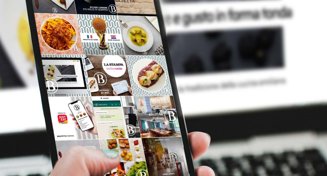 servizio di gestione dei canali di social media aziendali