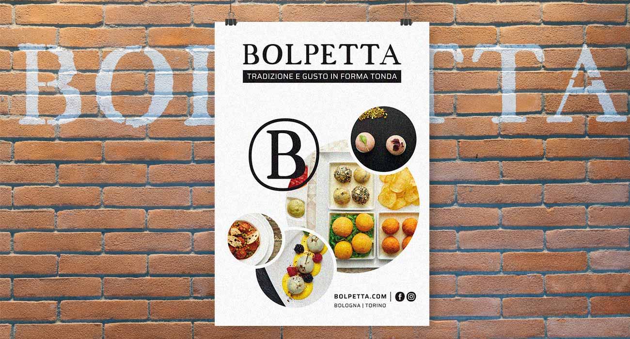 creazione del poster di Bolpetta