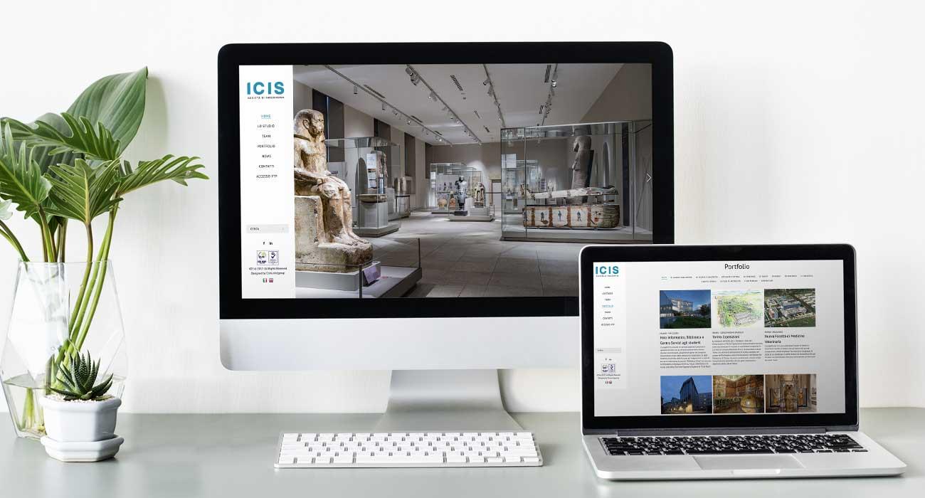 creazione sito web di ICIS