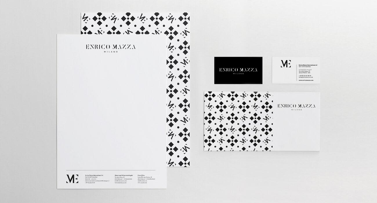creazione brand identity di enrico mazza