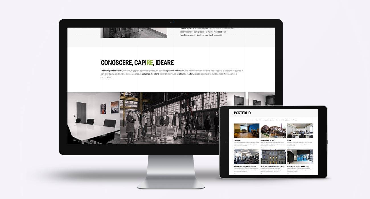 realizzazione sito web fred