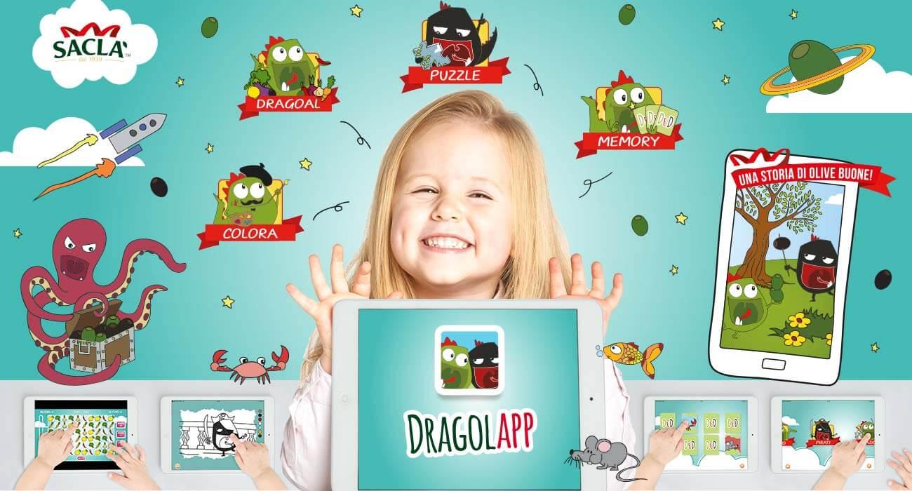 progettazione e realizzazione app per sacla di dragolì e dragolà