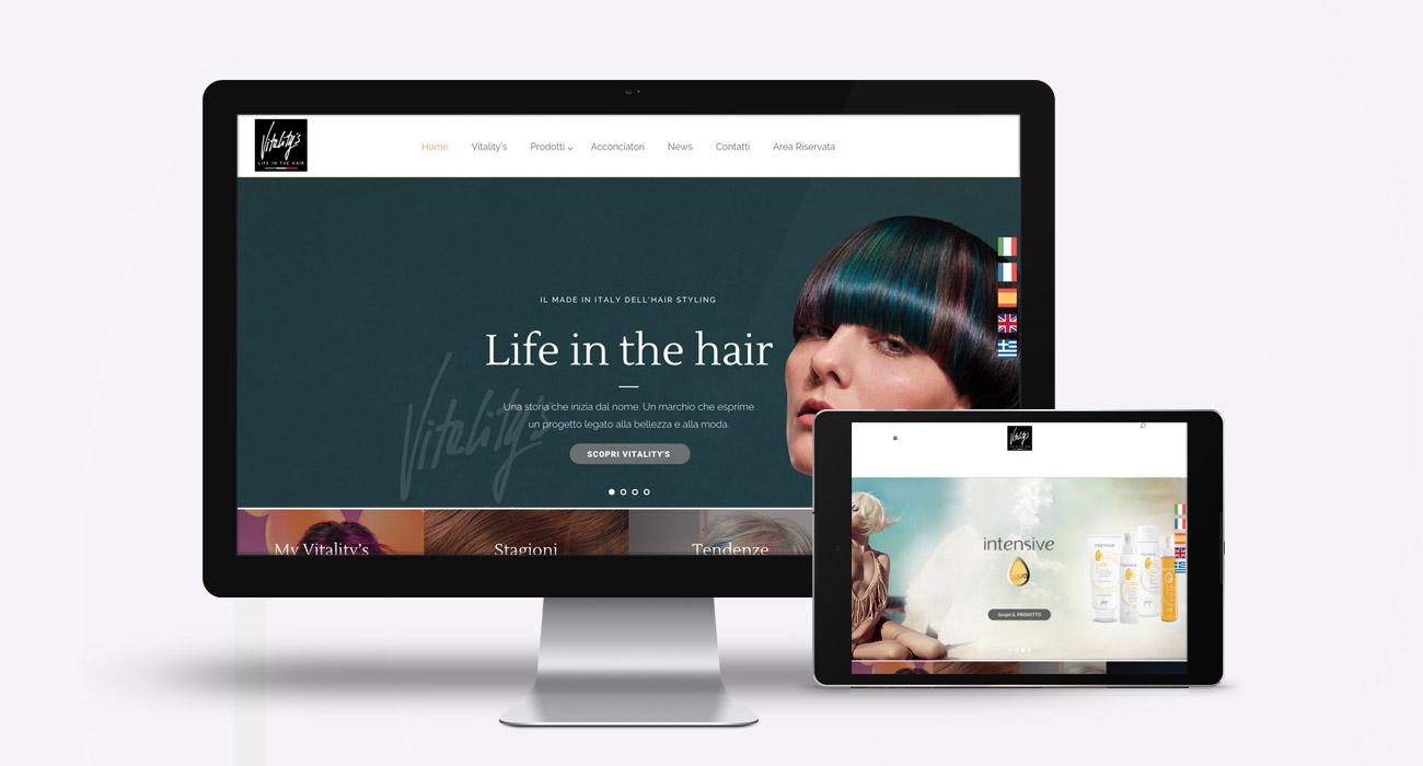 creazione sito web di Vitality's