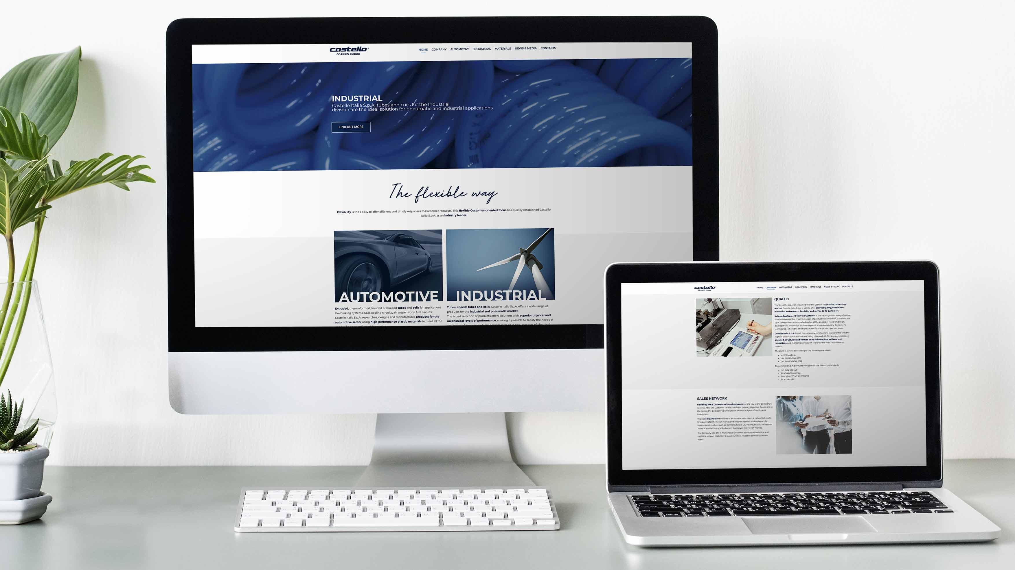 Cliente Castello Italia sito web