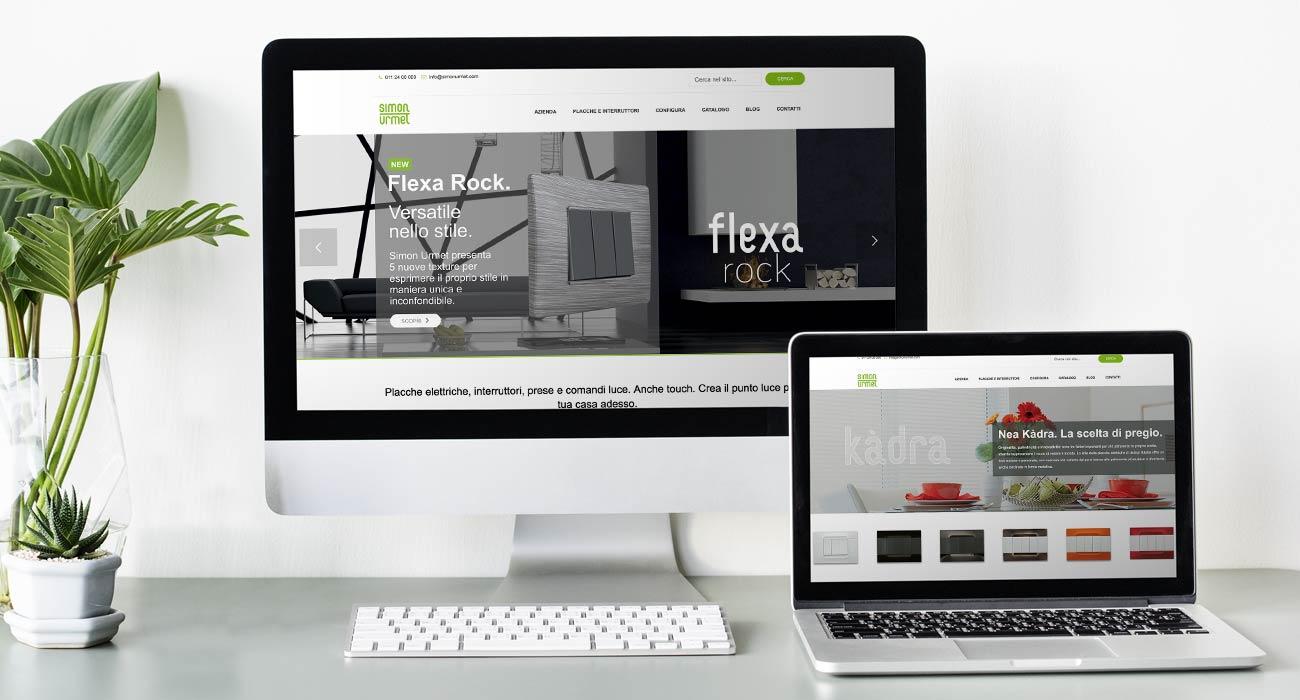 realizzazione sito web simon urmet