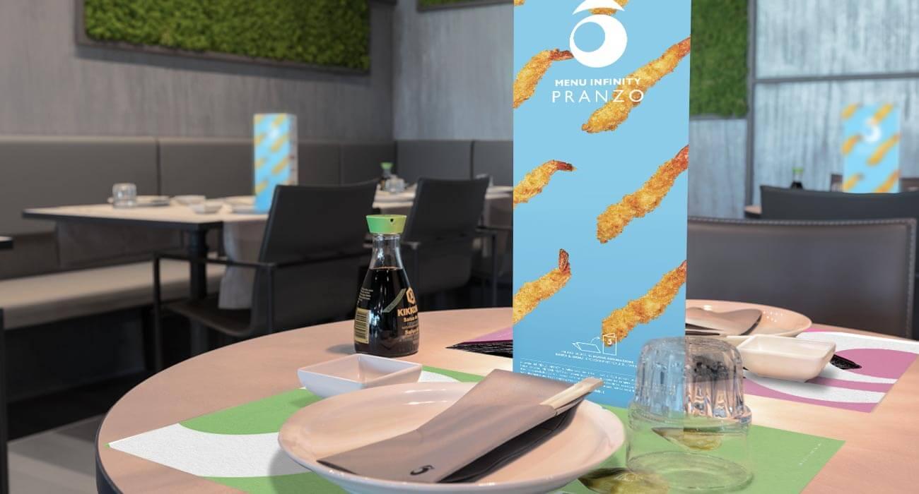 Sushiko realizzazione menu pranzo