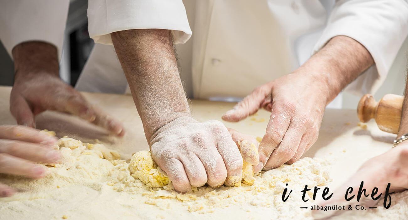 shooting dei tre chef