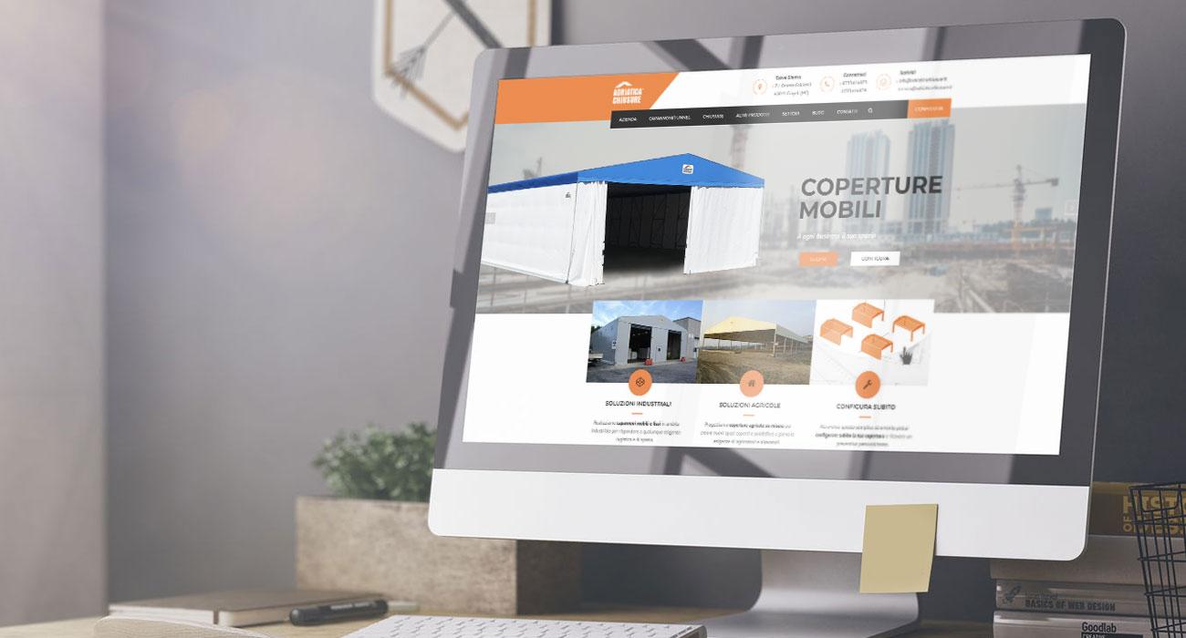 realizzazione sito web adriatica