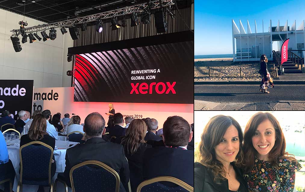 comunicogroup al xerox event in portogallo