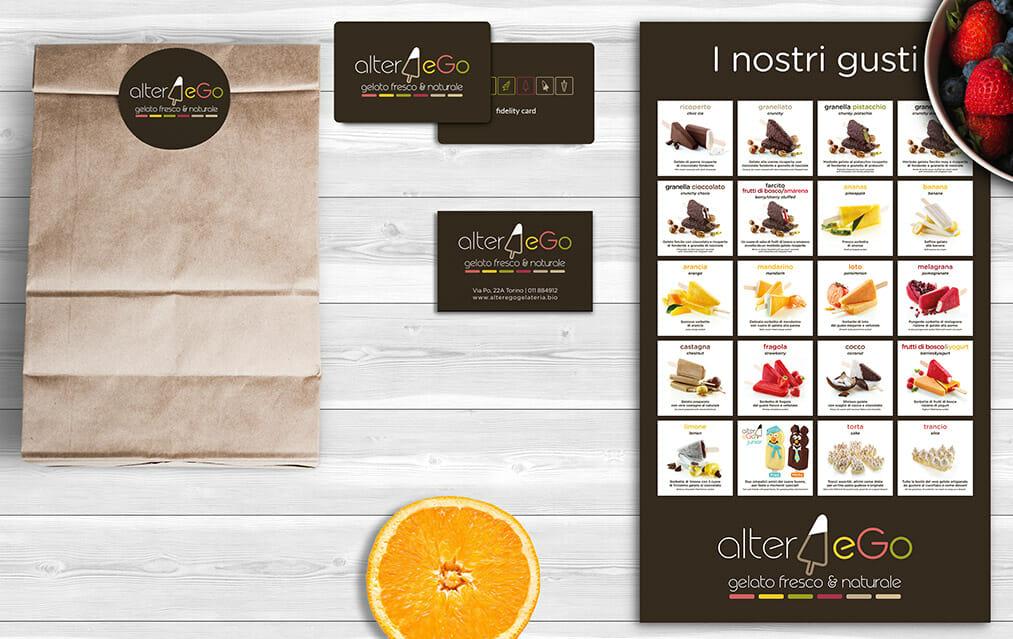 agenzia brand identity food