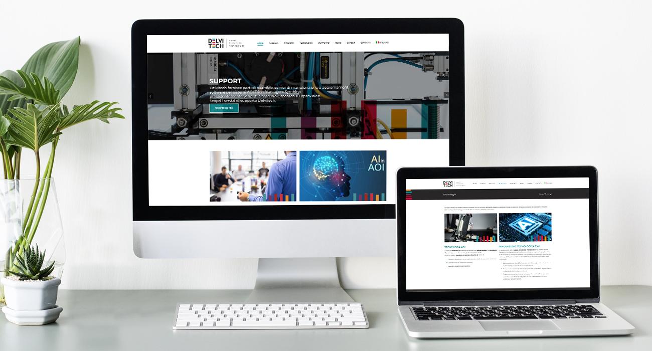 delvitech creazione sito web di comunico group