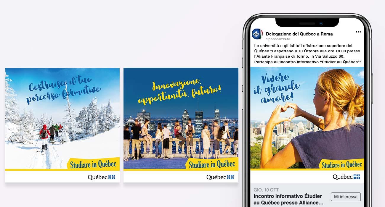 campagne google ads per il governo del quebec