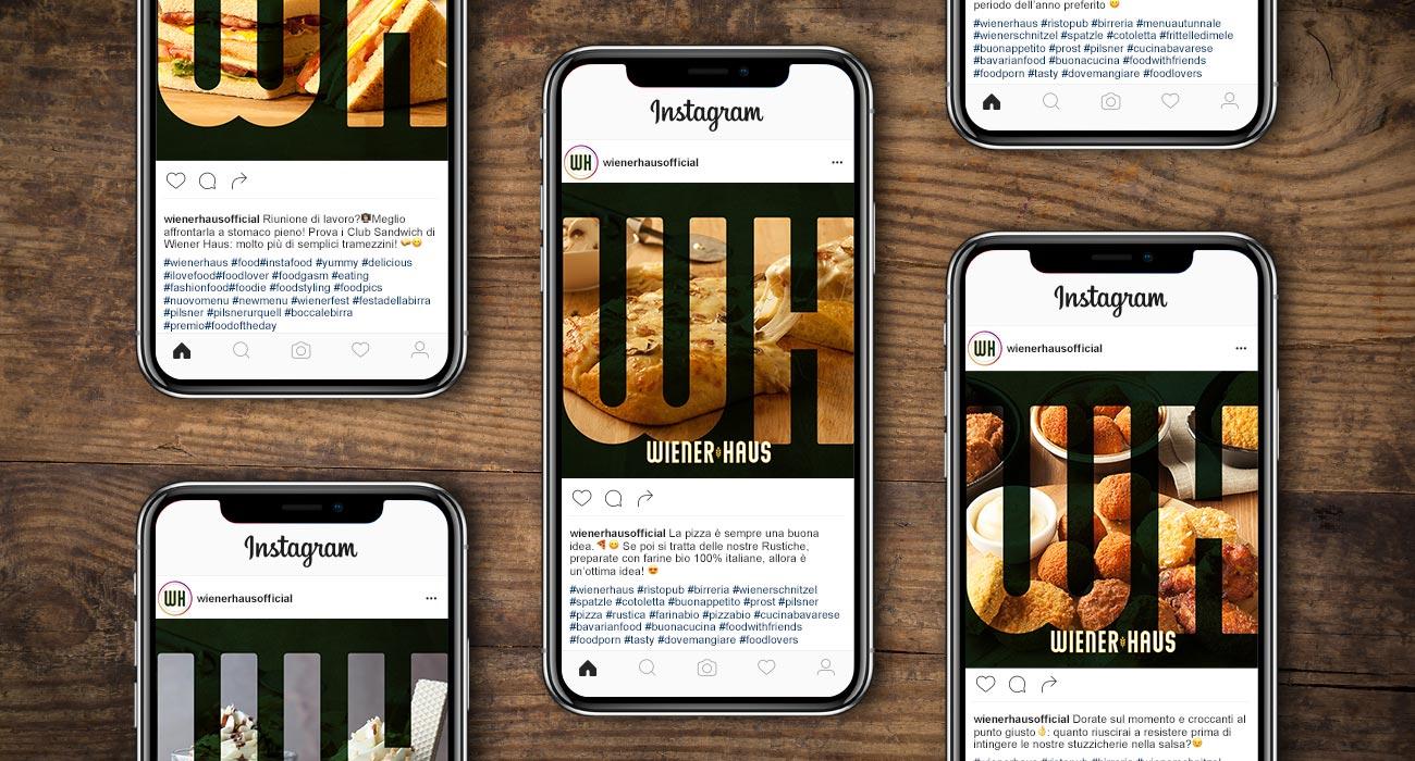 gestione dei profili social di Winerhaus