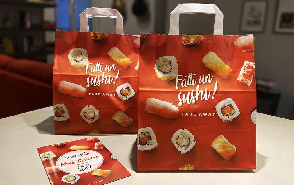Comunico batte il Covid-19 con la campagna dedicata al delivery di Sushiko