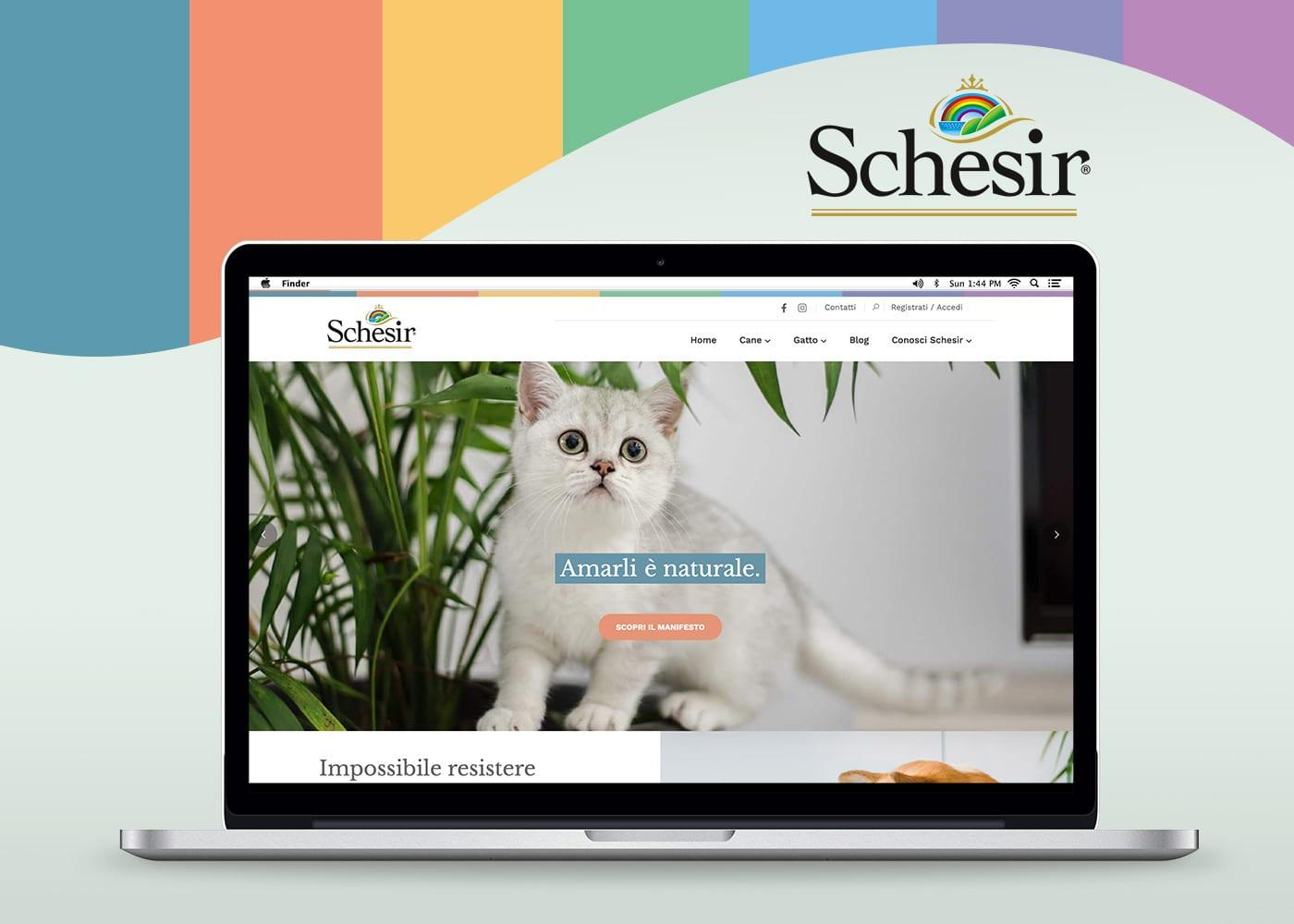 Schesir - nuovo sito web by Comunico